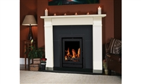 "44"" Hanover Set Filled (With Granite Back Panel & Hearth): Marfil Stone"