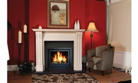 "60"" Irish Corbel Surround Only: Marfil Stone"