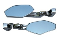 Chrome Sportbike Mirrors