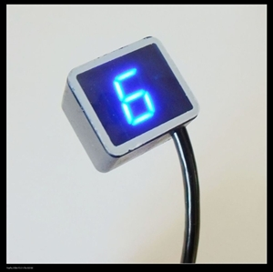 LED MOTORCYCLE GEAR SHIFT INDICATOR