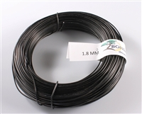1.8 MM ANODIZED BLACK BROWN ALUMINIUM WIRE