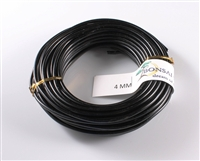 4 MM ANODIZED BLACK BROWN ALUMINIUM WIRE
