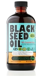 Pure Cold Pressed Black Seed Oil 8 oz STRONG