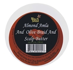 Almond Amla and Olive Braid & Scalp Butter 6oz.