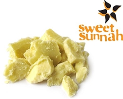 Pure Yellow Shea Butter: Filtered & Creamy - 6 oz