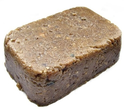 Raw African Black Soap 1 lbs