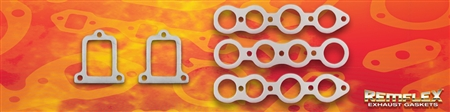 PN 13-007 -- Buick, L8,OHV, 248 ('34-'50), 263 ('50-'53), Stock Port, Manifold or Headers, 5 Piece Set