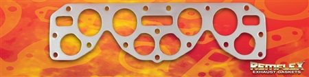 "PN 15-011 -- Nissan - Datsun L4 Special F.I.A. ""L-Series"" Racing Head, Combination Intake/Exhaust Manifold Gasket, 1(ea)"