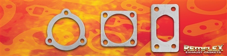 PN 18-002 -- Turbo - A 'PEXI' RX6A GASKET KIT: Contains:  PN 18-002(a) Exhaust Inlet (1 ea):  PN 18-002(b) Exhaust Outlet (1 ea):   PN 18-002(c) HKS Wastegate (1 ea), 3 Piece Kit