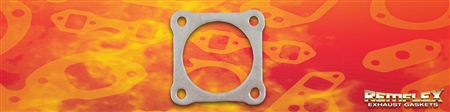 "PN 18-004 -- Turbo - 3"" Diameter, 4-Bolt Flange Gasket with 3-3/16"" Bolt Spacing, { (O2) Oxygen Housing }, 1(ea)"