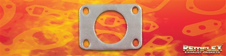 "PN 18-007 -- Turbo - HKS 50mm, Waste-Gate Inlet Gasket, 1-3/4"" Diameter Port, 4 Bolt Holes with Bolt Spacing: (A) 2-21/32""  x   (B) 1-3/4"",  1(ea)"