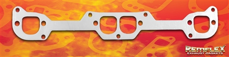 "PN 2053 -- Chevrolet Small Block, Adaptor Flange Gasket, Stahl ""7-Bolt Pattern"",GM Performance ""Fast Burn"" Heads,  2/Set"