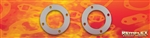 "PN 22-002-- Marine - Exhaust Gasket, 3-5/8"" ID x 5-7/8"" OD, 4 (15/32"") Bolt Holes on a 5"" Bolt Circle, 2/Set"