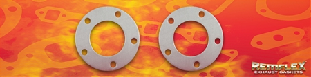 "PN 22-003-- Marine Exhaust Gasket, 2-1/2"" ID x 4-5/8"" OD, 5 (13/32"") Bolt Holes on a 3-3/4"" Bolt Circle, 2/Set"