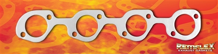 "PN 3043 -- Ford - ""Kook's"" Header Adaptor Plate Gasket For Small Block Windsor 1-15/16"" Dia. Round Port, 2/Set"
