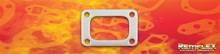 "PN 6039 -- MOPAR 6.7Liter Cummins ('07&1/2 thru '15) DIESEL TURBO MOUNT GASKET ""T4-I"" DESIGNATION 1-7/8"" X 3-1/8"" Rectangular Port Bolt Spacing ""A"" Dim = 2-5/32"", ""B"" Dim = 3-19/32"" 1 Each"