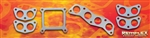 PN 6043 -- Mopar STRAIGHT 8 ENGINE  Intake / Exhaust  Manifold Gasket Set  323 Cubic Inch Years: 1934 - 1950