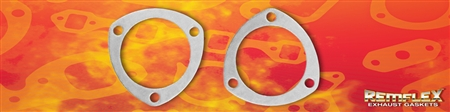 "PN 8002 -- 3"" Collector Flange, 3 Bolt Holes, 3-3/8"" Bolt Hole Spacing, 2/Set"