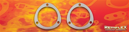 "PN 8048 -- ""Air Power Systems"" 3-1/2"", 3-Bolt Connector Flange Gasket, 2/Set"