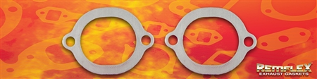 "PN 8054 -- Ford 4.6L Mac ""Pro Chamber"" H-Pipe 2-Bolt Flange Connector Gasket, Ob-round Port (3-3/16"" x 2-11/16""), 2/Set"