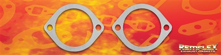 "PN 8055 --  3-1/2"" Port, 2-Bolt Flange Connector Gasket, 2 (1/2"") Bolt Holes with 4-1/2"" Spacing,  2/Set"