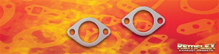 "PN 8063 --1-13/16"" Hole, 2-Bolt Connector Gasket with 2-1/2"" Bolt Spacing, 2/Set"