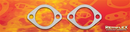"PN 8071 -- Ford 2-1/8"" Pipe, 2 Bolt Connector Gasket, 2 Bolt Holes with 2-15/16"" Bolt Spacing, 2/Set"