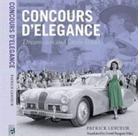 Concours D'Elegance:  Dream Cars and Lovely Ladies Cover
