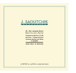 Saoutchik by Peter M. Larsen with Ben Erickson Cover
