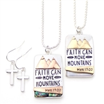 Faith Can Move Mountains - Copper or Gold - Package (3)