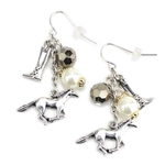 English Horse Charms Earrings - Package (3)