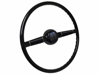 "16"" Forty Steering Wheel Kit with Embossed Ford V8 Horn Cap"