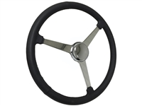 Sprint Steering Wheel Chrome Kit - 3 Spoke Hot Rod design