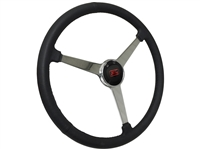 Sprint Steering Wheel Ford Kit - Solid 3 Spoke Hot Rod design