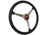 Sprint Steering Wheel Ford V8 Kit - Solid 3 Spoke Hot Rod design