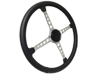 Sprint Steering Wheel Black Kit - 4 Spoke Hot Rod design