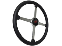 Sprint Steering Wheel Ford Kit - Solid 4 Spoke Hot Rod design