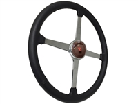 Sprint Steering Wheel Ford V8 Kit - Solid 4 Spoke Hot Rod design