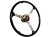 "16"" Banjo Steering Wheel Kit with Ford De Luxe Button"