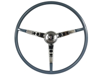 Auto Pro USA , Volante , Ford , Mustang , 1964 , 1/2 , 1964.5 , Steering Wheel , full kit , horn ring , contact plate , palomino , red , blue , ivy gold , parchment , aqua , white , black , OE , brand new , reproduction ,