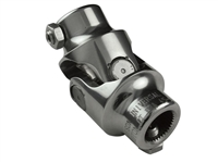 Borgeson , Polished . Stainless Steel . Single Universal Joints , Hot Rod , Street Rod , Restoration ,