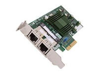Supermicro AOC-SG-i2 High-performance, Cost-effective Dual-port Gigabit Ethernet Card 10/ 100/ 1000Mbps PCI-Express 2 x RJ45