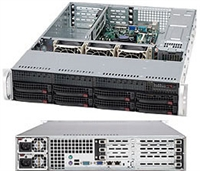 Supermicro 1U SuperChassis CSE-825TQ-R720UB