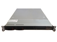 Supermicro SYS-1026T-T 1U server with total 8 Cores Intel Xeon processors/24GB DDR3 ECC/REG Memories/ 2 x 500GB sata3 7200RPM hard drives with raid 1/mirror /Slim DVD ROM -- 3 years warrranty