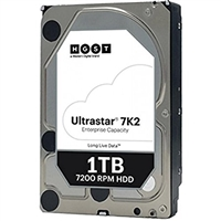 HGST HUS722T1TALA604 HDD ULTRASTAR 7K2 1TB 7200RPM SATA-6GBPS 128MB Buffer 512N 3.5inch Enterprise Hard Drive New Sealed Full Warranty