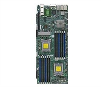 Supermicro A+ AMD Opteron 4000 series H8DCT-HIBQF Dual 1207-pin Socket C32 6 SATA via AMD SP5100 Controller RAID 0,1,10 Dual GbE LAN Port Integrated Graphics  Mellanox Connect-X2 IB QSFP IPMI 2.0 Full Warranty