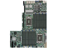 Supermicro A+ H8DGU-LN4F+ AMD Motherboard Proprietary Form Factor Dual Opteron 6000 series 1944-pin Socket G34 up to 768GB DDR3 RAMS 2 Dual-port GbE Lan 6 SATA2 ports via SP5100 RAID 0,1,10 Integrated Graphics IPMI 2.0 KVM Full Warranty