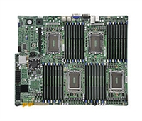 Supermicro A+ H8QG6+-F AMD Motherboard Quad Opteron 6000 series 1944-pin Socket G34 up to 1TB DDR3 RAMS Dual-port GbE controller 6 SATA2 ports via SP5100 RAID 0,1,10  LSI 2008 8 ports SAS controller RAID 0,1,10 RAID 5 optional IPMI 2.0 Full Warranty