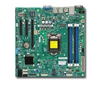 Supermicro MBD-X10SLL-F LGA1150 Socket H3 Supports 4th Generation Core SATA Dual GbE LAN Port SATA DOM power connector IPMI 2.0 TPM header VGA D-sub Full Warranty