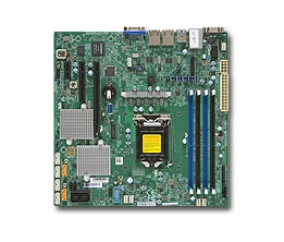 Supermicro MBD-X11SSL-CF Motherboard LGA1151 single Socket H4 Dual GbE LAN Port 6x SATA3 C232 Full Warranty
